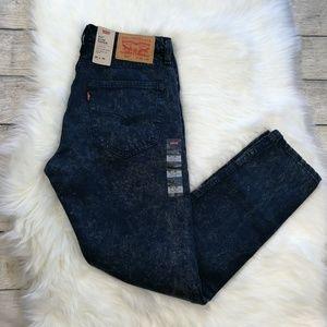 Levi's 512 Slim Taper Acid Wash Jeans 32X30